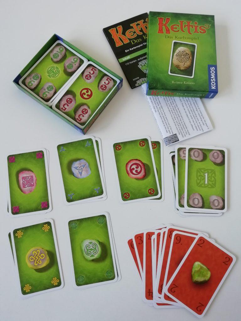 Keltis Das Kartenspiel